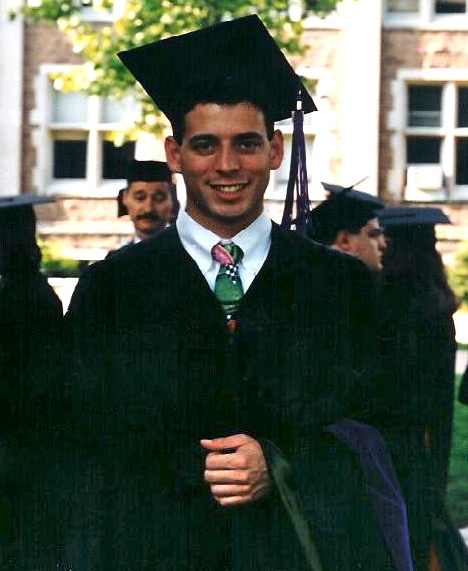Me in 1996 about to graduate from Washington University School of Law