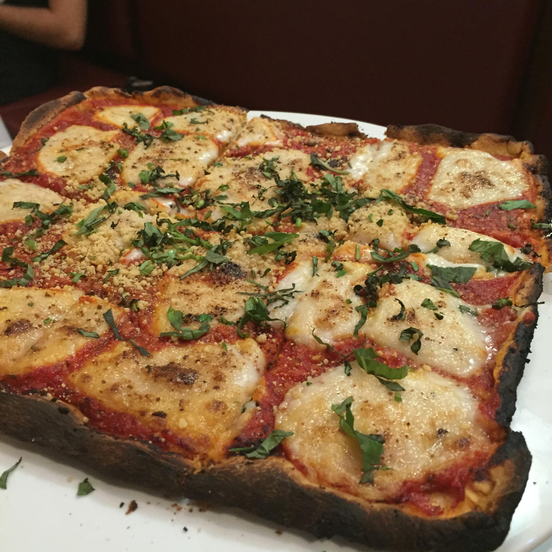 grandma pizza - Travertine Restaurant 2015